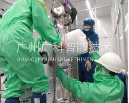 液晶产业无尘车间YASKAWA安川机器人平衡缸维修